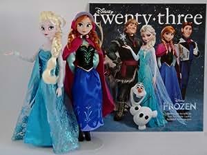 Disney Expo 2013 D23 Frozen Dolls Elsa & Anna Exclusive Boxed Set