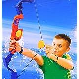 Aqua Bow Water Ball Launcher Fill Water, Aim And Shoot Safe Foam Balls! Splash Sports
