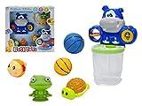 Set-Bano Juguetes para el bano Juguetes - Baloncesto - juegos de agua para ninos Kids