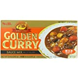S&B Golden Curry Sauce Mix, Mild, 8.4-Ounce