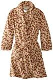 Komar Kids 7-16 Girls Brown Yummy Robes