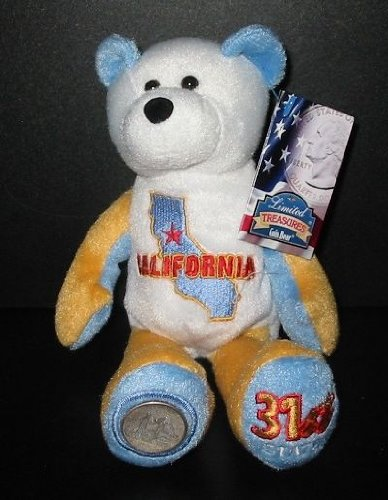 Limited Treasure California Quarter Bear - 1