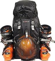 TEAM PACK SKI BOOT BAG- BLACK