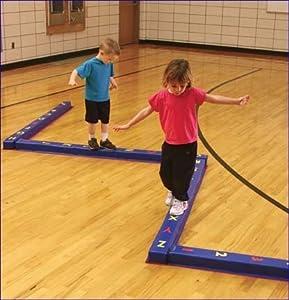 Amazon.com : WeeKidz Balance Beam Number Beam by Everlast : Gymnastics