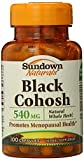 Sundown Naturals Black Cohosh 540 Mg Whole Herb Capsules, 100 Count