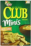 Keebler Club Mini Crackers, Multi-Grain, 11 Ounce