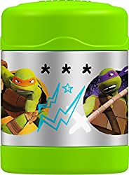 Thermos 10 Ounce Funtainer Food Jar, Teenage Mutant Ninja Turtles