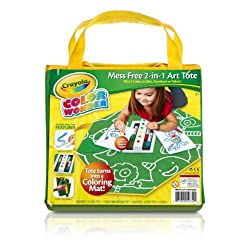 [Best price] Arts & Crafts - Crayola Color Wonder Mess Free 2-in-1 Art Tote - toys-games