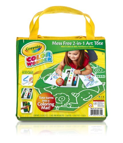 Crayola Color Wonder Mess Free 2-in-1 Art Tote