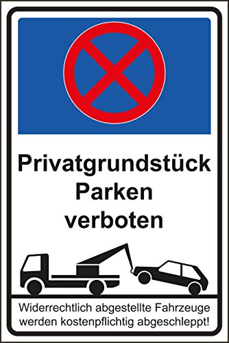 parkverbot parken verboten schild schilder 54. Black Bedroom Furniture Sets. Home Design Ideas