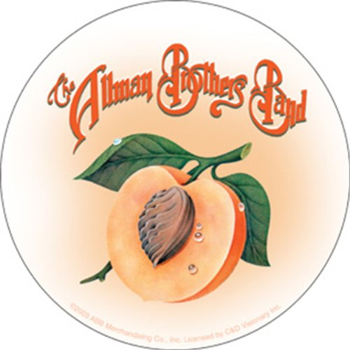 Licenses Products Allman Brothers Peach Seed Sticker