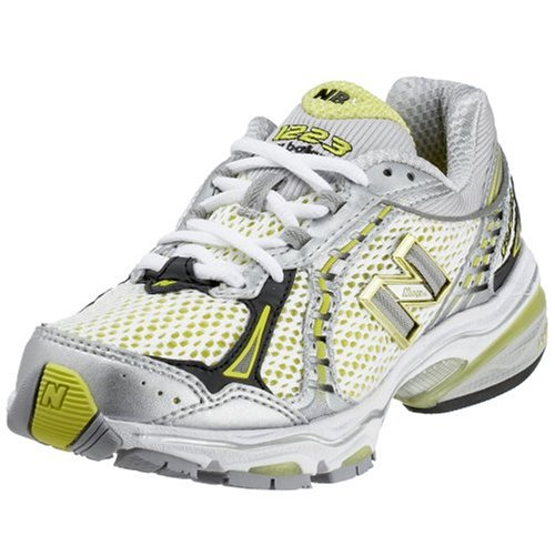 New Balance Women's WR1223 SL WR 1223 Silver/Limeade 5 UK Regular