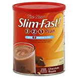 Slim Fast 3-2-1 Plan Shake Mix, Chocolate Royale, 12.83 oz (364 g)
