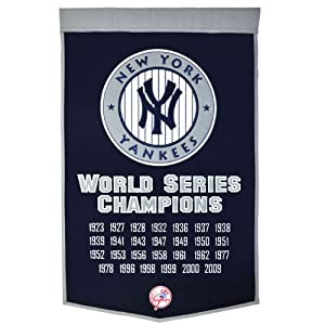 MLB New York Yankees Dynasty Banner by Winning Streak