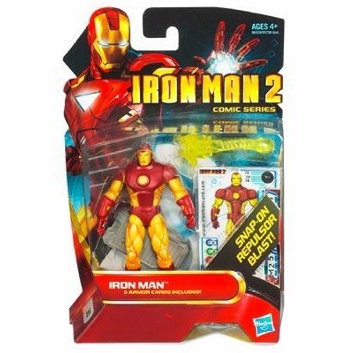 Iron Man 2 Comic Series 3.75 inch Action Figure - Iron Man #30 - 1