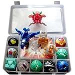 9 Bakugan Toy All Different + 9 Metal...