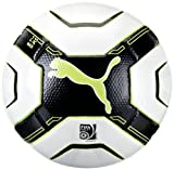Puma PowerCat 2.12 Match Football FIFA Approved white-black-lime punch-dark shadow Size:one size
