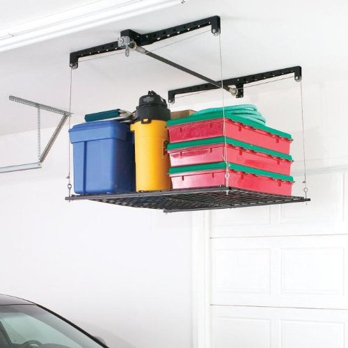 Images for Racor PHL-1R Pro HeavyLift 4-by-4-Foot Cable-Lifted Storage Rack