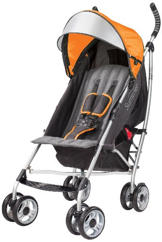 Summer Infant 3D lite Convenience Stroller, Tangerine