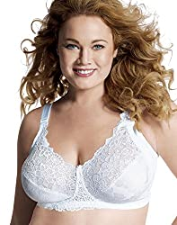 JMS Comfort Lace with Hidden Shaper White 48DD