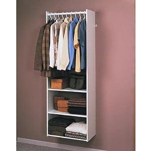 Amazon Com Easy Track Rv1472 Closet Hanging Tower Closet