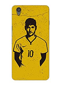 MiiCreations 3D Printed Back Cover for One Plus X,Neymar
