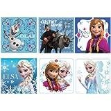 """Disney's Frozen Stickers 2.5x2.5"""" 100 count"""