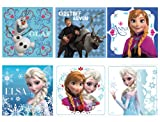 "Disneys Frozen Stickers 2.5x2.5"" 100 count"