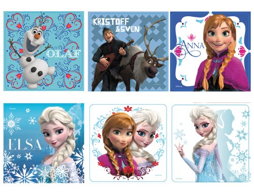 "Lowest Prices! Disney's Frozen Stickers 2.5x2.5"" 100 count"