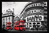 London - Piccadilly Circus Framed Poster - 64x94.5cm
