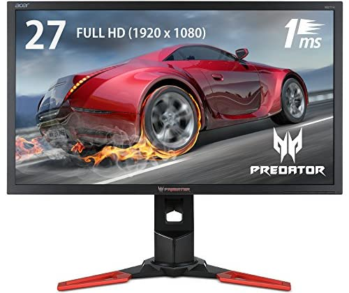 Acer 27型ワイド液晶ディスプレイ XB271Hbmiprz (TN/非光沢/1920x1080/300cd/1000:1/1ms/ブラック)