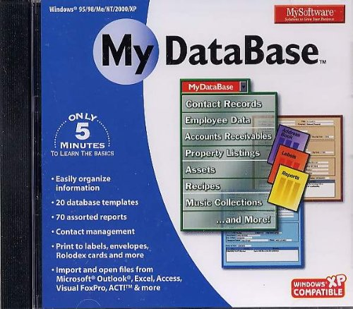 MY SOFTWARE - DATABASE [CD] [CD-ROM]