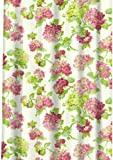 Waverly Traditions by Famous Home Fashions Rolling Meadow 100-Percent Polyester Shower Curtain