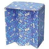 携帯紙椅子?Portable Paper Chair?  『ECO-CH(エコッチ)』 アルファベット柄 2個セット