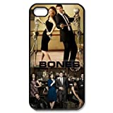 Hot TV Play Series&Bones Theme Case Cover for iPhone 4/4S - Personalized Hard Cell Phone Back Protective Case Shell-Perfect as gift