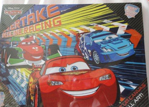 Disney Pixar Cars Light Up Led Canvas Wall Art