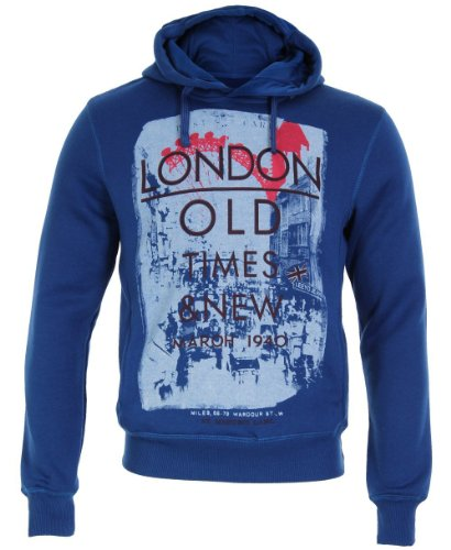 Mens Retro London Photo Print Hoody Hoodie Sweatshirt Sweater Hooded Pullover