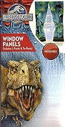 Jurassic World Window Panels Curtains Drapes, Set of 2