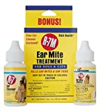 Miracle Care by Miraclecorp/Gimborn R-7M 1-Ounce with Bonus 1-Ounce Ear Mite Treatsment Kit for Dogs and Cats