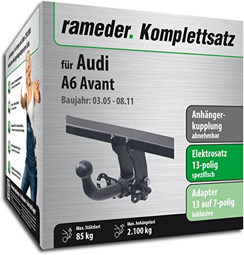 RAMEDER-Komplettsatz-Anhngerkupplung-abnehmbar-13pol-Elektrik-fr-Audi-A6-Avant-136124-05381-1