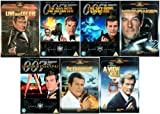 The Complete Roger Moore James Bond DVD Movie Collection: Live and Let Die / The Man With the Golden Gun / The Spy Who Loved Me / Moonraker / For Your Eyes Only / Octopussy / A View to A Kill
