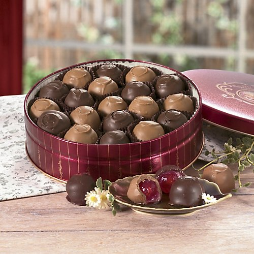 The Swiss Colony Chocolate Covered Cherries 10-oz.