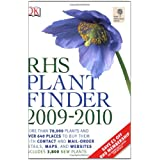 RHS Plant Finder 2009-2010by Dorling Kindersley