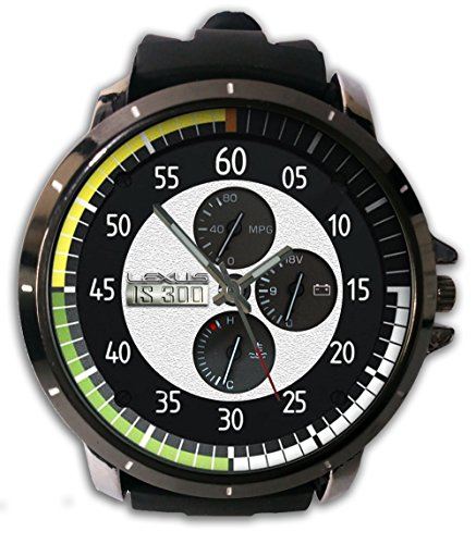 Ls300 Custom Speedometer Lexus Snap On Watch Alloy Stainless-Steel With Rubber Band