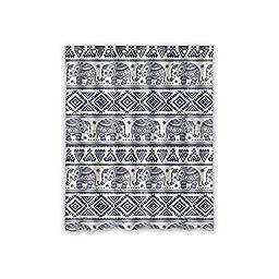 House Decors Elephaant Design Polyester Custom Blackout Window Curtains 52\