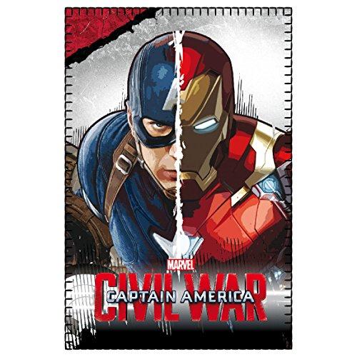 marvel-2200001651-150-x-100-cm-civil-war-captain-america-vs-iron-man-coperta-in-pile