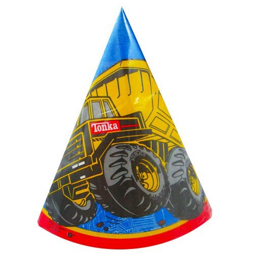 Tonka Construction Cone Hats (8ct) - 1