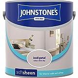 Johnstones No Ordinary Paint Water Based Interior Soft Sheen Emulsion Iced Petal 2.5 Litre