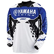 2013 One Industries Atom Jersey - Yamaha (LARGE) (BLUE)