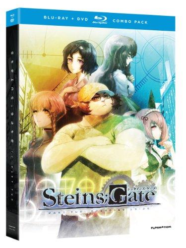シュタインズ・ゲート 第2弾 (13-25話/300分収録/Blu-ray + DVD) (北米版)